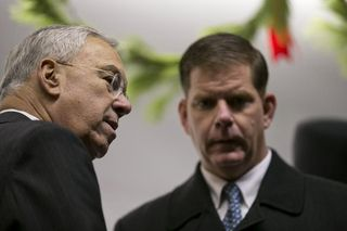 Walsh and menino